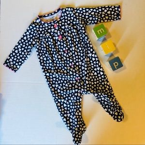 Carter's Blue Footed Sleeper 6m